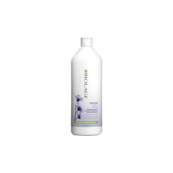 Matrix Biolage Colorlast Purple hamvasító sampon, 1000 ml