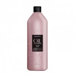 Matrix Oil Wonders Volume Rose sampon vékonyszálú hajra, 1000 ml