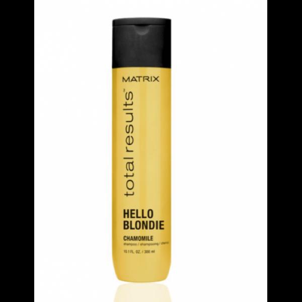 Matrix Total Results Hello Blondie ápoló sampon szőke hajra, 300 ml