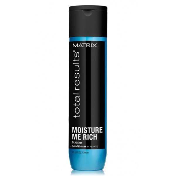 Matrix Total Results Moisture Me Rich balzsam a haj hidratációjáért, 300 ml