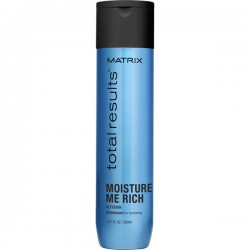 Matrix Total Results Moisture Me Rich sampon a haj hidratációjáért, 300 ml