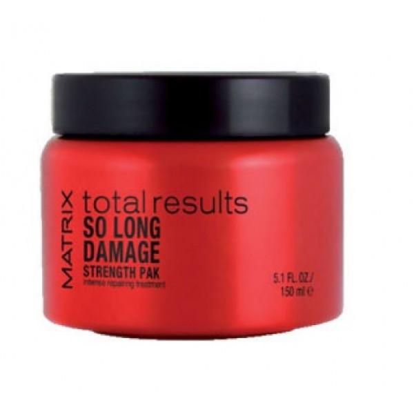 Matrix Total Results So Long Damage hajpakolás károsodott hajra, 150 ml