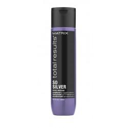 Matrix Total Results So Silver balzsam szőke és ősz hajra, 300 ml